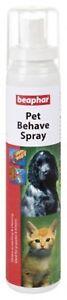 Beaphar Animale Domestico Behave Spray 125ML Anti Grattare & Chew Cane/Gatto