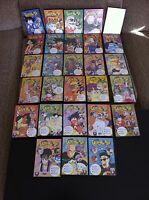 DRAGON BALL - COLECCION 30 DVD + LIBRETOS - 90 CAPITULOS - VOLUMENES 1-30 UNICO!