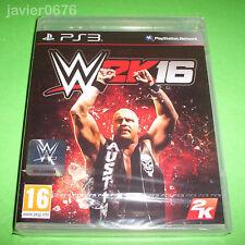 W2K16 WWE 2K16 NUEVO Y PRECINTADO PAL ESPAÑA PLAYSTATION 3 PS3