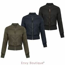 Brave Soul Bomber Casual Coats & Jackets for Women