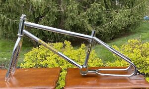 1984 Mongoose Californian Frame & Fork W/Stamped OG Headset - Old School BMX