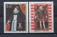 S12375) Monaco MNH 1968, Paintings 2v