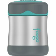 Thermos Foogo Vacuum Insulated Stainless Steel Food Jar (Charcoal/ Teal)