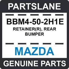 BBM4-50-2H1E Mazda OEM Genuine RETAINER(R), REAR BUMPER