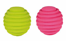 Trixie Flexible Latex Dog Ball, 6cm For Small & Medium Dogs, 2 Colours