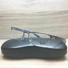 Ray Ban RB 8412 Eyeglasses Palladium Blue Carbon Fiber 2502 Authentic 54mm