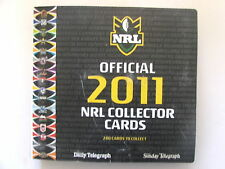2011 Rugby League Telegraph set of 240 cards & album