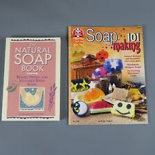 Set of 2 Soap making books: Soapmaking 101 + Natural Soap Book