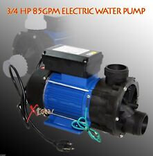 NEW 3/4 HP ELECTRIC CLEAN  WATER PUMP POND SPA POOL PUMPS SUPPLY 85GPM 600 Watt