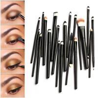 20 X Make-Up Pinsel Powder Foundation Lidschatten Eyeliner Lip Kosmetik Pin,PR~
