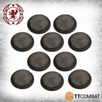 TTCombat BNIB 50mm Cobblestone Bases TTCGR-ACC-015