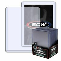 1 PK 25CT NEW BCW THICK CARD 79PT TRADING CARD TOP LOADERS 3X4