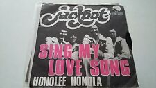 45T JACKPOT-SING MY LOVE SONG-