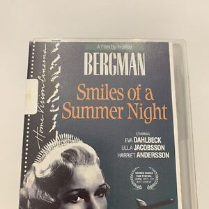 Smiles of a summer night the VHS video tape n3a foreign film