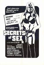 SECRETS OF SEX Movie POSTER 27x40