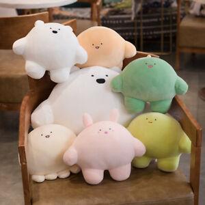 Cute glutinous rice dumpling plush toy chubby dinosaur octopus pillow gift