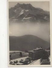 Leysin Miremont & Dents du Midi RP Postcard Switzerland 394a