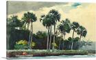 ARTCANVAS Red Shirt Homosassa Florida 1904 Canvas Art Print by Winslow Homer