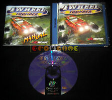 4 WHEEL THUNDER Dreamcast Dc Versione Europea PAL »»»»» COMPLETO