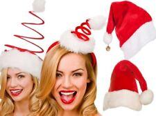 Christmas Santa Hats Mens Ladies Adults Xmas Novelty Santa Hat Festive Outfit