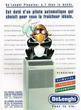 Publicité Advertising 1993 Le Climatiseur De'Longhi Pinguino
