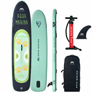 Aqua Marina Gonflable Super Voyage Family Sup Stand Up Paddle Board Surf Isup De