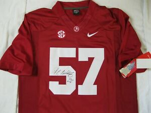 RARE 2014 NIKE DJ Pettaway DL  # 57 Autographed Alabama Football Jersey, SZ M