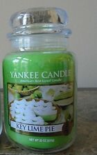 Yankee Candle NEW Key Lime Pie  22 oz. 1 SINGLE Candle    Free Ship 1st Quality