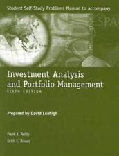 Investment Analysis and Portfolio Management, Sixth Edition