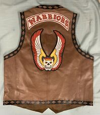 The Warriors Genuine Leather Vest