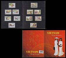 VIETNAM Superbe Livret Souvenir sous blister Années 1989 à 1993 Booklet MNH