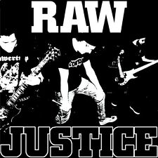 "Raw Justice - Same 7"" RIVAL MOB NO TOLERANCE FLOORPUNCH BOSTON STRANGLERS"