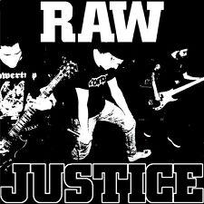 "Raw Justice - Same 7"" RIVAL MOB NO TOLERANCE FLOORPUNCH BOSTON STRANGLERS"