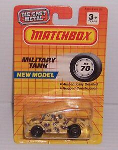 1993 MATCHBOX MB 70 WEASEL DESERT CAMO MOC