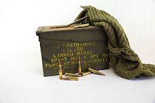 50 CAL AMMUNITION BOX AMMO STEEL FULLY SEALED EX MILITARY ARMY