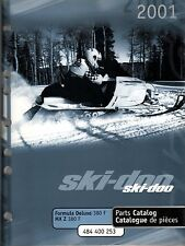 2001 SKI-DOO FORMULA DELUXE AND MX Z 380 F PARTS MANUAL P/N 484 400 253  (206)