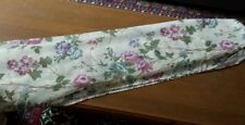 2 New ♡ Beautiful Window Scarf ♡18' x 5' Floral Print Fabulous For Double Window