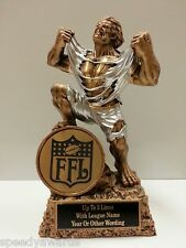 Fantasy Football Individual MONSTER FFL Trophy - ENGRAVED FREE - SPEEDY Shipping