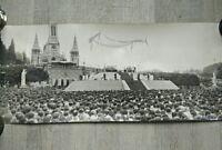 photo ancienne Basilique Notre-Dame-du-Rosaire de Lourdes Lacaze 50' visite Pape
