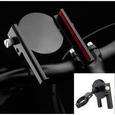 Black CNC Motorcycle Bike Mount Clamp Holder Adjustable 55-100mm for i Phone GPS