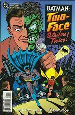Batman Two-Face Strikes Back #1 Comic 1993 - DC Comics - Robin Catwoman Gotham