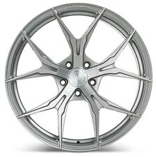 19x8.5 Rohana RFX5 5x114 +35 Brushed Titanium Rims (Set of 4)