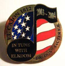 El Cajon Elks Lodge Lapel Pin - 2003 California USA Club Member Elkdom Badge Pin