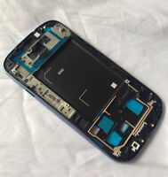 Blue LCD Housing Bezel Front Cover Frame Replacement For Samsung Galaxy S3 i9300