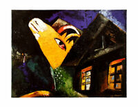 Marc Chagall Letable Poster Kunstdruck Bild 70x90cm