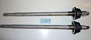 USED '56 - '62 TRIUMPH TR3 - TR3B W/ SOLID REAR AXLE - SHAFT & HOUSING SET  G419