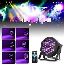 36X2W Strahler UV Schwarzlicht LED Black Licht Effekt DMX Bühnenlicht+Fernbedien
