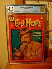 Adventures of Bob Hope #4  Pre-Code Photo Cover DC Comic 1950 CGC graded 4.5