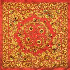Original hohloma silk shawl
