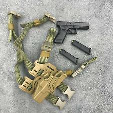 GWG-011. 1/6th scale British Army Glock 17 & Holster